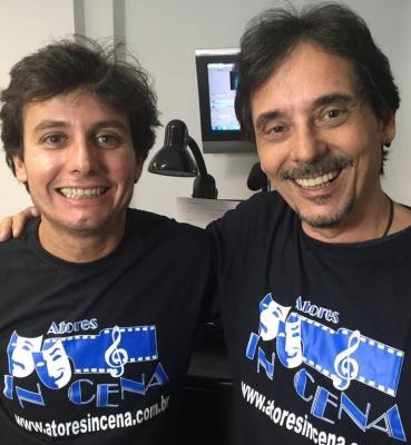 Francisco Quintiliano e Ricardo Schnetzer – Professores de dublagem