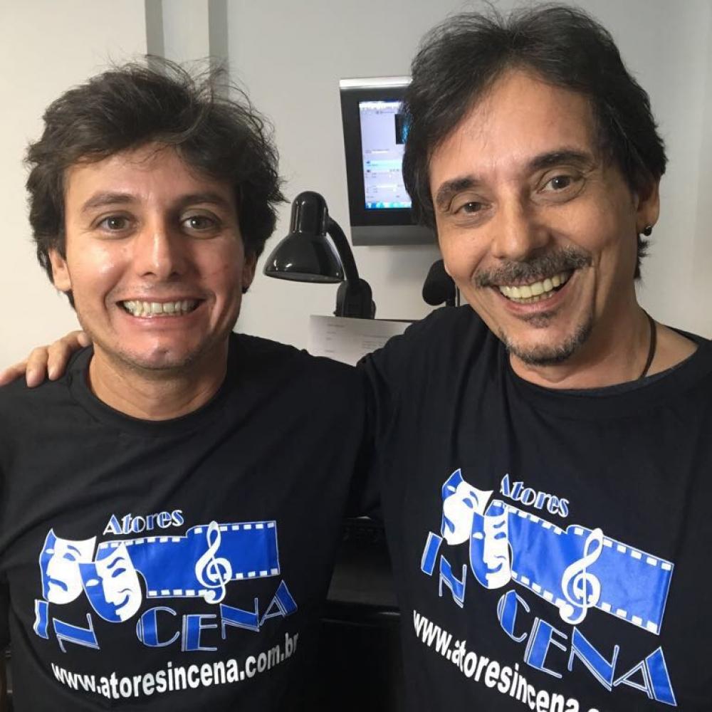 Francisco Quintiliano e Ricardo Schnetzer