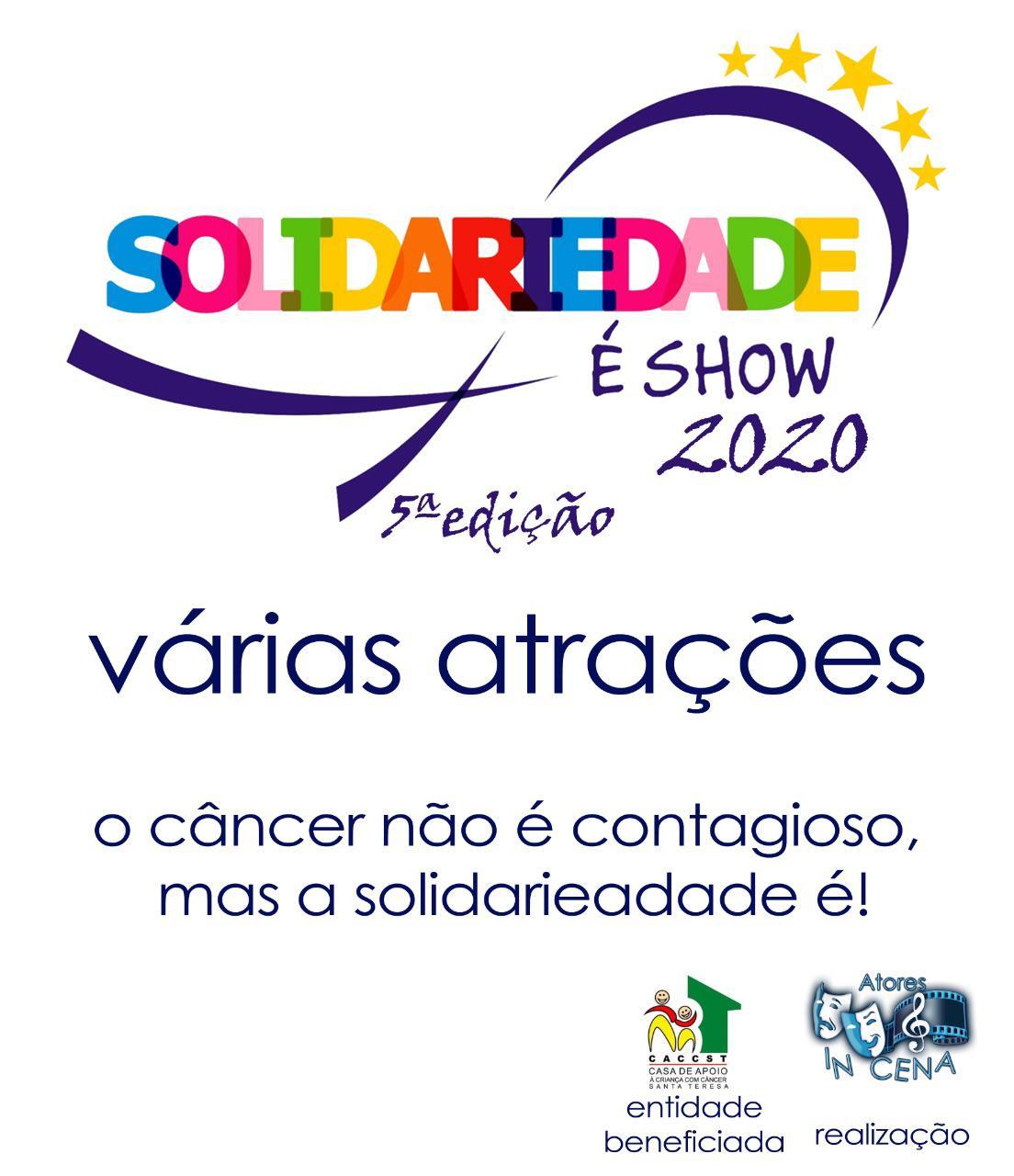 Solidaridade é Show – 2020